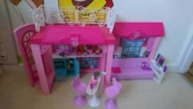 Barbie apartment set