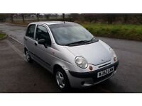 2002 52 DAEWOO MATIZ 0.8CC, 50K GEN MILES, FULL MOT, 60 MPG, CHEAP TAX AND GROUP 1 INSURANCE
