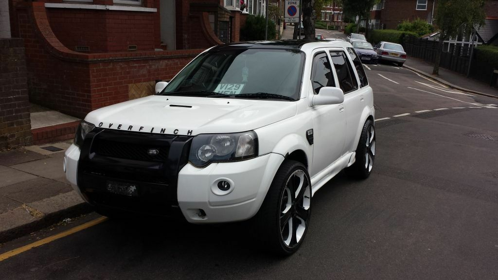 Lovely Looking Overfinch Landrover Freelander 163 9000 Custom