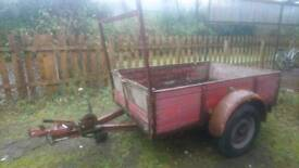 Single axle trailer up to 1000kg