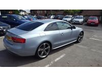 AUDI A5 S LINE BLACK EDITION QUATTRO ONLY 47K MILEAGE 12 MONTHS MOT 3 MONTHS NATIOWIDE WARRANTY