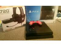 Playstation 4 500gb and tritton 7.1