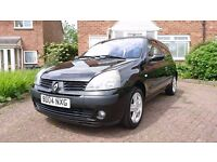 2004 Renault Clio Dynamique Black - Is this your new car? £725 ono