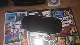 Console PSP 2003 with games