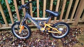 Kids Townsend 'Venom' bike with 12'' wheels