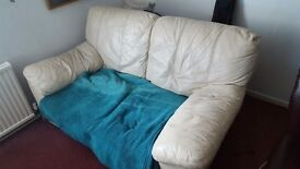 Two Seater Sofa plus Footstool