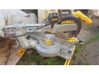 Dewalt Mitre Chop Saw DW708 305mm blade