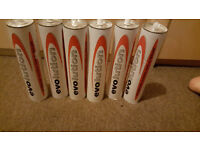 6*EVOLUTION INTUMESCENT ACOUSTIC ACRYLIC SEALANT, 900ML TUBES!