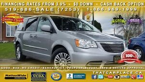 2013 Chrysler Town & Country Touring - $69Wk-Leather-Dual Power