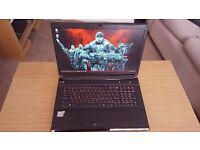 "17"" (PC Specialist) Clevo Gaming Laptop - £650 ONO, i7-4700MQ, AMD HD8970M 4GB, 120GB SSD, 16GB RAM"