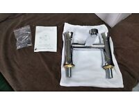 BRAND NEW Hudson Reed Quill Bath Filler - Chrome - CAN DELIVER