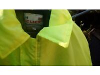 Thick safety jacket size large worn couple of times excellent condition