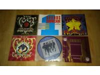"8 x 7"" the cult - lil devil / sanctuary / love removal machine / wildflower"