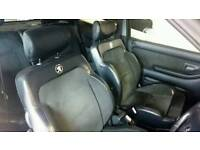 306 GTi half leather interior