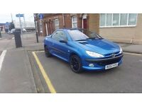 Peugeot 206cc , sale or swap