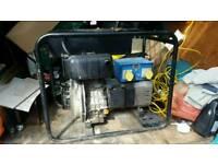 Yanmar diesel generator 110v