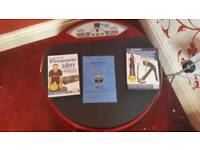Vibrating Disc and instructional DVDs