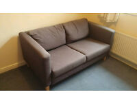 Ikea knihult two seat sofa