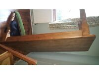 """Farmhouse Pine Table (5'5"""" x 3"""") with drawers. Used and in excellent condition. Seats 6."""