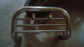 Isuzu Trooper front chrome bull bar