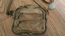 women's river island leather shoulder bag