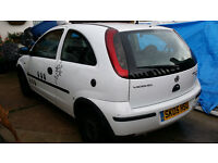 Vauxhall Corsa C 1.2 Twinport Automatic Petrol/LPG (not working)