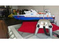 Rc full scale recovery boat