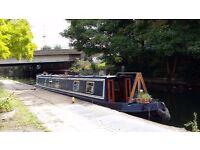 Blue Avenues 56' narrowboat