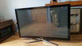 "Samsung 50"" Tv."