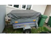 4x3 galvanised trailer