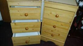 Bedside drawers