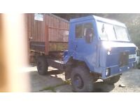 Land Rover 101FC tipper bodied