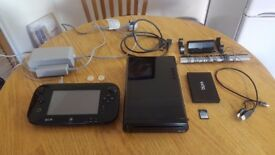 Nintendo Wii U 32Gb + Games + extras! Fantastic Bundle. Great Xmas Present