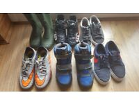 Boys shoes and boots UK Sizes 2, 3.5 and 4