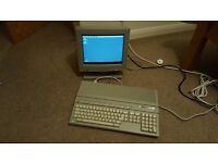 Atari 1040 STE with SM144 Monochrome Monitor