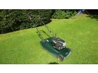 Hayter 48 petrol roller mower cost £800