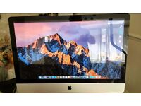 "Apple iMac ""Core i7"" 2.8ghz (Boost 3.46ghz) 8Gb Ram 27-Inch IPS Screen"
