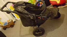 Out and about nipper double pushchair