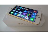 Apple iphone 6 16gb simfree gold fully refurbished like new. comes with charger & 3 months warranty