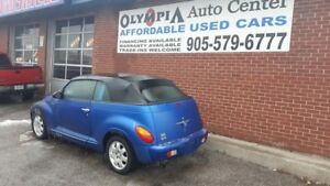 2005 Chrysler PT Cruiser CONVERTIBLE - CERT/EMIS