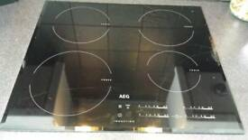 AEG CONDUCTION HOB
