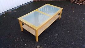 Coffee Table Frosted Glass Inserts 120cm FREE DELIVERY 110