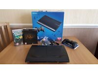 PS3 (Playstation 3) 500 Gb Super Slim plus controller and two games - Now Sold