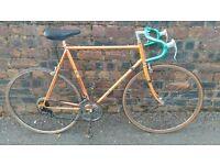 Orange Peugeot Road Bike