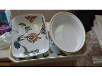 Set of 3 Royal Worcester Dishes