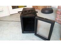 Black mini-fridge for sale