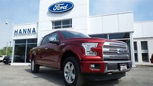 2016 Ford F-150 *NEW* SUPER CREW PLATINUM *700A* 4X4 3.5L V6 ECO