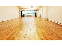Event/Studio Space/ Hall for Hire Reduced Price in July & August