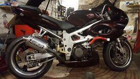 """Suzuki TL1000s full power model """"fully loaded"""" 0000s spent"""