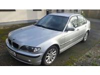 BMW 320d E46 Silver - Cornwall